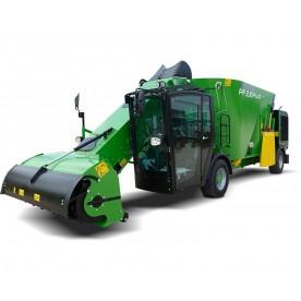 Vagon cu mixer autopropulsat - Leader PF2 PLUS Compact