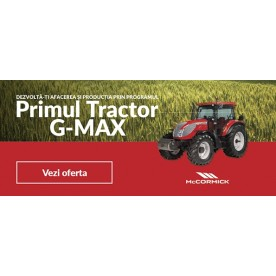 PRIMUL TRACTOR G-MAX E + PLUGUL LELIO M4